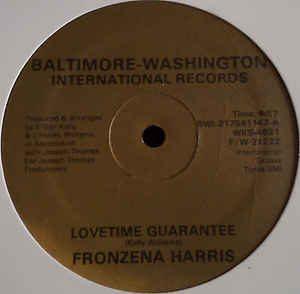 Fronzena Harris – Lovetime Guarantee Artwork