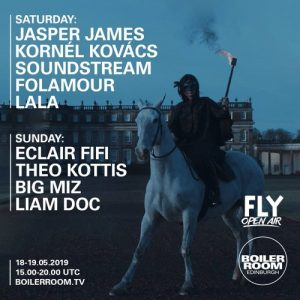 Folamour | Boiler Room x FLY Open Air 2019 Artwork