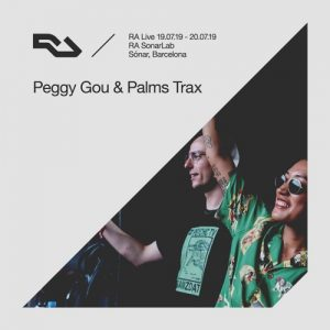 RA Live – Peggy Gou & Palms Trax Album Art