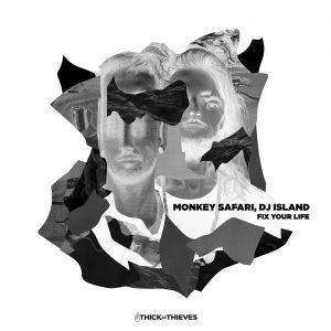Monkey Safari, DJ Island – Fix Your Life Artwork