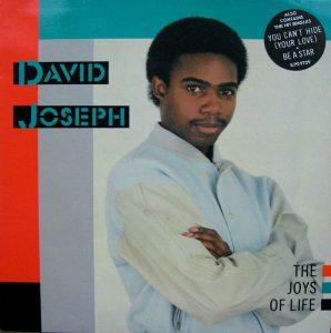 David Joseph – Baby Wont You Take My Love Artwork