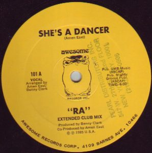 RA – She's A Dancer Artwork