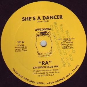 RA - She's A Dancer