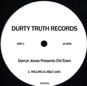Darryn Jones – Willing And Able (Edit) Artwork