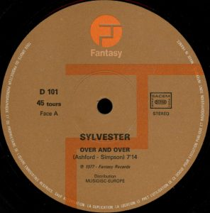 Sylvester – Over And Over Artwork