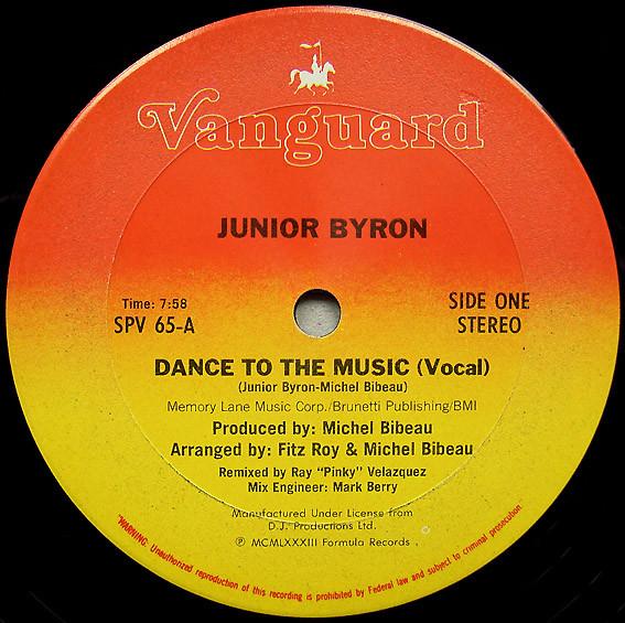 Junior Byron - Dance To The Music (Dub Mix)