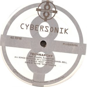 Richie Hawtin, Cybersonik – Technarchy Artwork